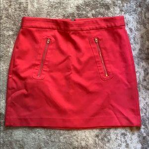 Pink miniskirt